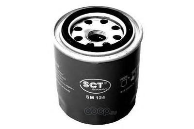Масляный фильтр (SCT) SM124 (фото, вид 1)