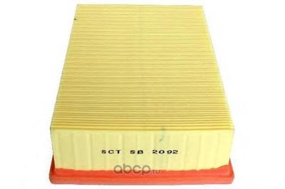Воздушный фильтр (SCT) SB2092 (фото, вид 2)