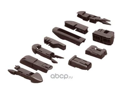 Щетка стеклоочистителя универсальная бескаркасная 350mm,10 адаптеров (PILENGA) WUP1350 (фото, вид 1)
