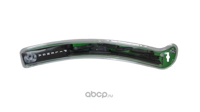 Щетка стеклоочистителя универсальная бескаркасная 350mm,10 адаптеров (PILENGA) WUP1350 (фото)