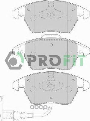 Комплект тормозных колодок (PROFIT) 50001641