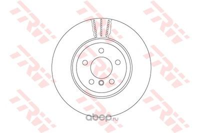 Тормозной диск (TRW/Lucas) DF6610S