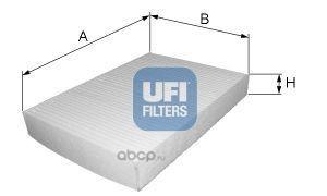 Фильтр салона (UFI) 5325600