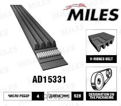 Ремень п к материал (Miles) AD15331