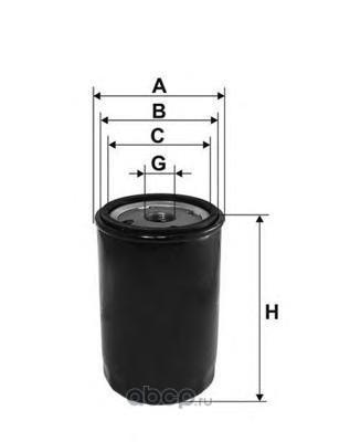 Масляный фильтр (OPEN PARTS) EOF402520