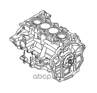 Блок цилиндров (Hyundai-KIA) 211022BW02