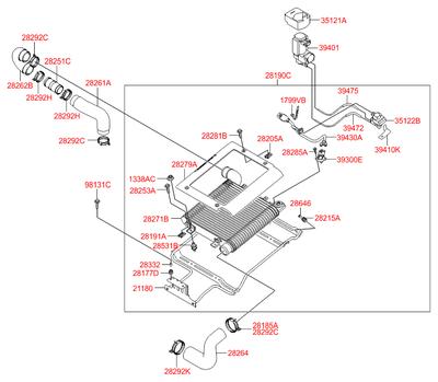Болт m6 крепления держателя щеток (Hyundai-KIA) 9813126100