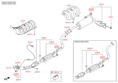 Деталь (Hyundai-KIA) 286792B000