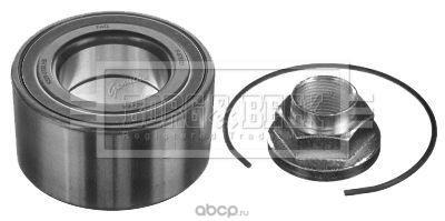 Комплект подшипника ступицы колеса (BORG&BECK) BWK1418