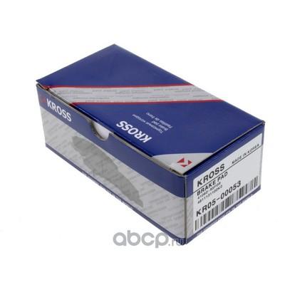 Комплект тормозных колодок, дисковый тормоз (Kross) KR0500053