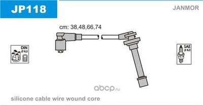 Комплект проводов зажигания (Janmor) JP118