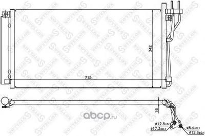 Конденсатор (STELLOX) 1045105SX