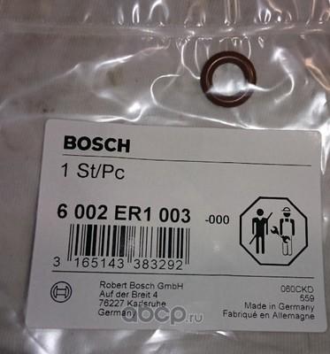 Кольцо уплотнительное топливной форсунки (Bosch) 6002ER1003