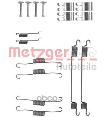 Комплектующие, тормозная колодка (METZGER) 1050030