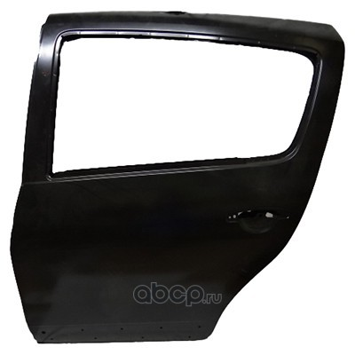 Дверь Рено Логан задняя цена (RENAULT) 821018232R