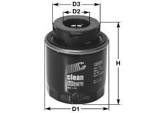 Фильтр масляный (Clean filters) DO5509