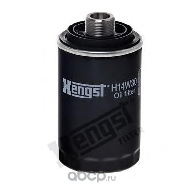 Фильтр масляный (Hengst) H14W30