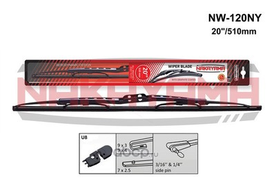 Щётка каркасная, крючок,боковой штырь, 500мм (NAKAYAMA) NW120NY