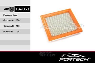 Фильтр воздушный (Fortech) FA053 (фото)