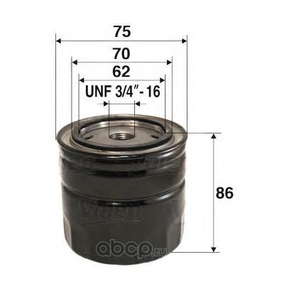 Масляный фильтр (Valeo) 586039