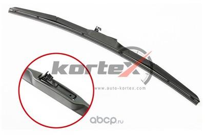 Щетка стеклоочистителя 500мм (гибридная) (KORTEX) KP500H