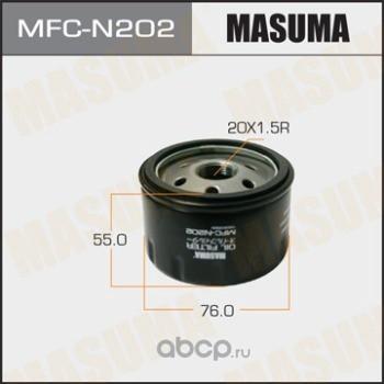 Фильтр масляный (Masuma) MFCN202