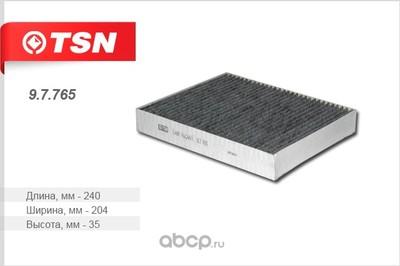 Фильтр салона угольный (TSN) 97765