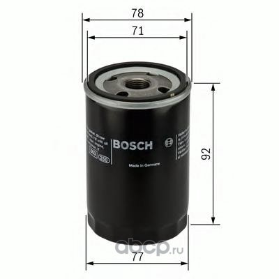 Масляный фильтр (Bosch) F026407017