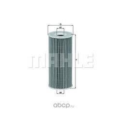 Масляный фильтр (Mahle/Knecht) OX201D