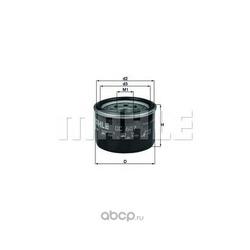 Масляный фильтр (Mahle/Knecht) OC607