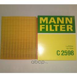 MANN Фильтр воздушный (MANN-FILTER) C2598