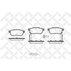 Комплект тормозных колодок (Stellox) 244002SX