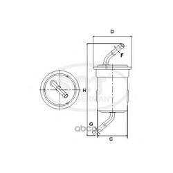 Топливный фильтр (SCT) ST793