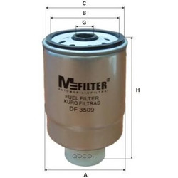 Топливный фильтр (M-Filter) DF3509