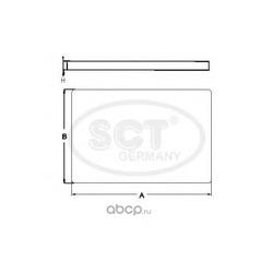 Салонный фильтр (SCT) SAK205