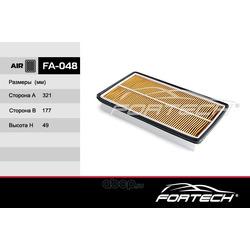 Фильтр воздушный (Fortech) FA048