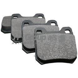 Колодки тормозные дисковые задние / OPEL Omega-A,Senator-B,Vectra-B (JP Group) 1263700410