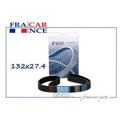Ремень ГРМ 132x27,4 (Francecar) FCR211334