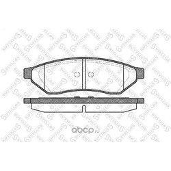 Комплект тормозных колодок (Stellox) 1060000SX