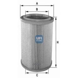 Воздушный фильтр (UFI) 2735500
