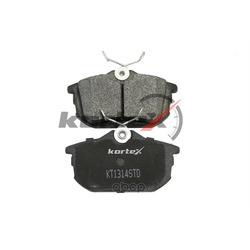 Колодки тормозные, комплект, задние (KORTEX) KT1314STD