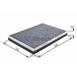 Фильтр, воздух во внутреннем пространстве (Bosch) 1987432066