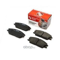 Колодки тормозные передние HYUNDAI Accent I/II, Getz, Lantra II, OEM 581011CA10 без дат. (ADR) ADR240111