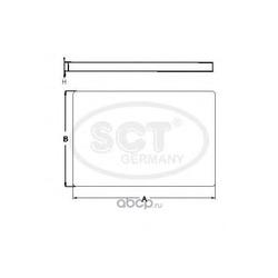 Фильтр салона (SCT) SA1237