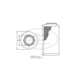 Воздушный фильтр (SCT) SB2097