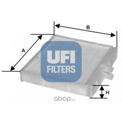 Фильтр, воздух во внутренном пространстве (UFI) 5309000