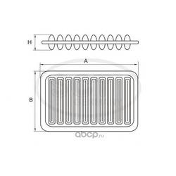 Воздушный фильтр (SCT) SB2170