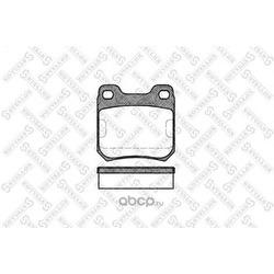 Комплект тормозных колодок (Stellox) 250040SX