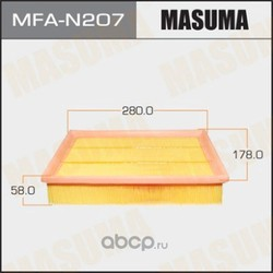 Фильтр воздушный (Masuma) MFAN207