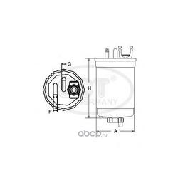 Топливный фильтр (SCT) ST6070
